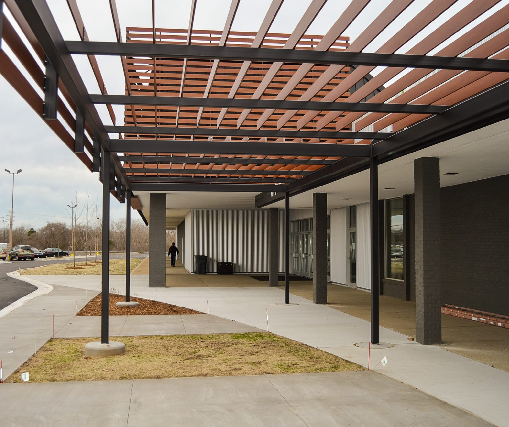Aluminum Awning Amp Pergola Kits That Look Like Wood Knotwood