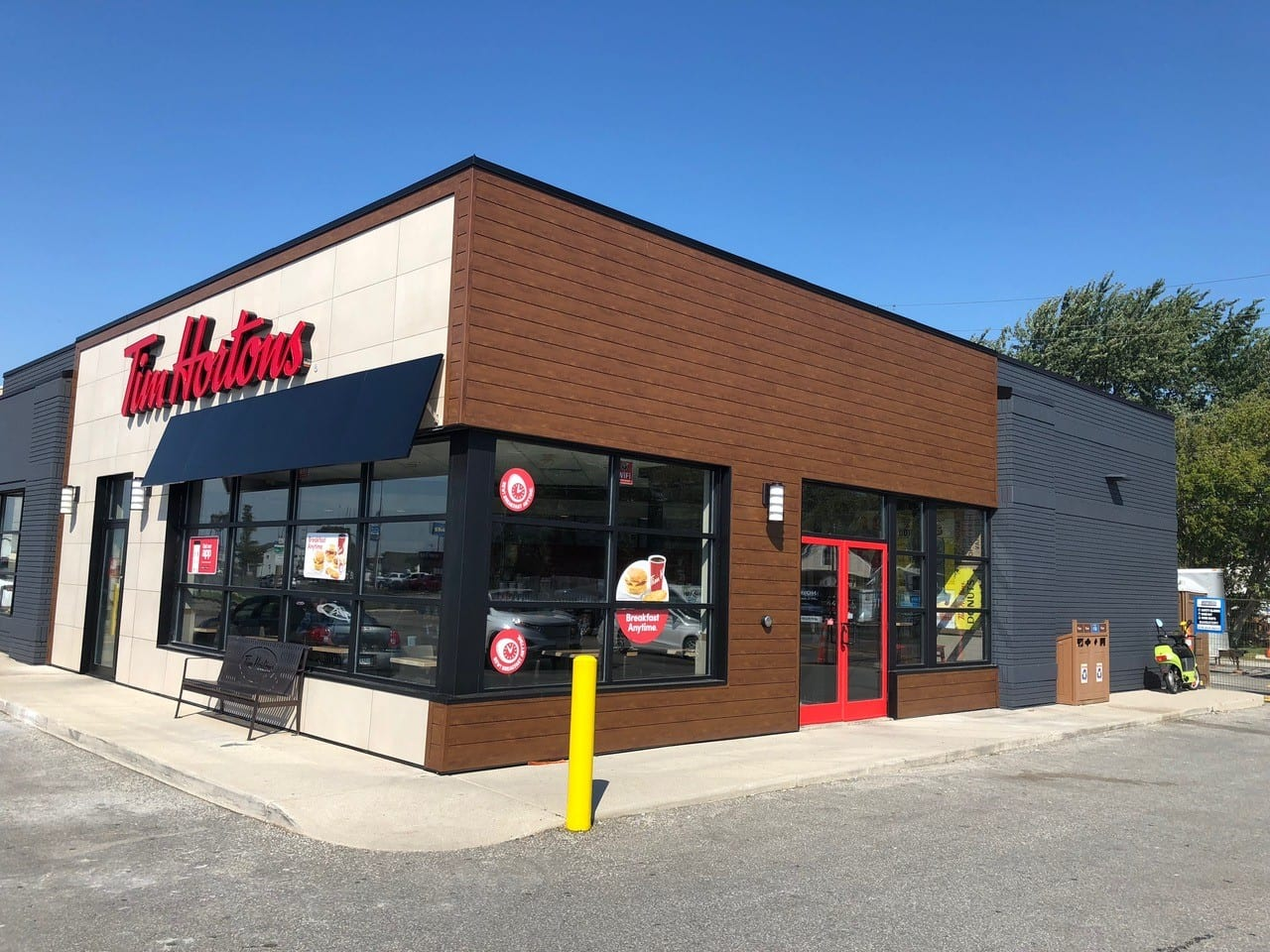 Tim Hortons | Knotwood | Cladding